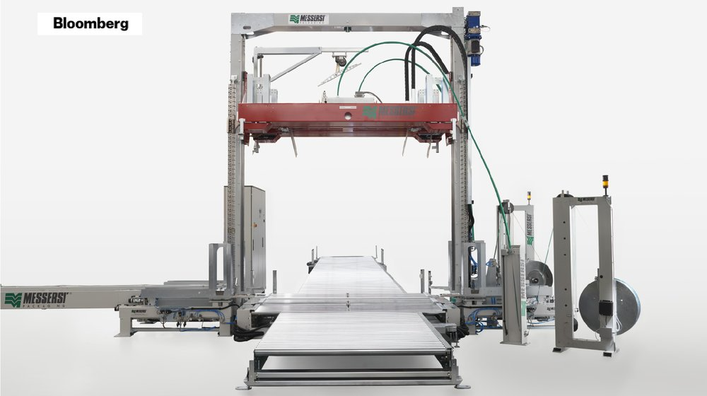 BLOOMBERG RESEARCH: AMONG THE TOP 5 VENDORS IN THE STRAPPING MACHINE MARKET