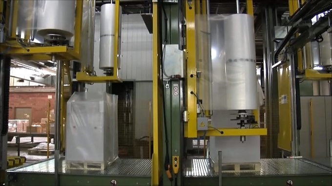 # Solutions /reams / vertical wrapping machines and shrinking system for the paper world